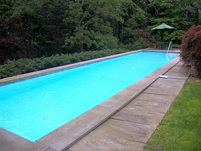Armonk Pool by Robert Paul
