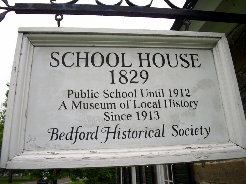 Schoolhouse in Bedford by Robert Paul